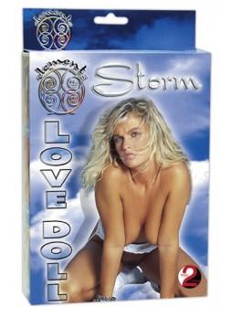 Vihar lány guminő