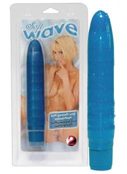 Lágy hullámok vibrátor - kék