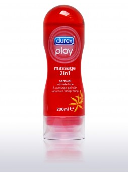 Durex Play 2in1 masszázsolaj - Ylang Ylang - 200ml