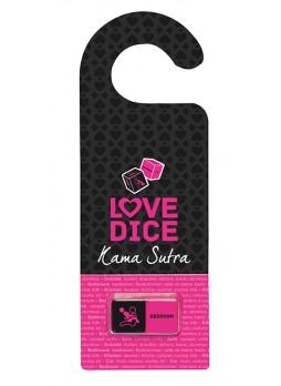Szex dobókocka ajtóakasztóval szett (fekete-pink)