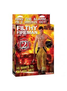 Fireman - tűzoltó életnagyságú szexpasi